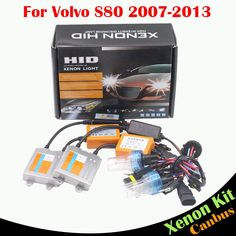 56.35$  Watch now - http://ali0hf.worldwells.pw/go.php?t=32777414533 - 55W Car HID Xenon Kit AC Canbus Ballast Lamp 3000K 4300K 6000K 8000K Conversion Auto Headlight High Beam For Volvo S80 2007-2013 56.35$