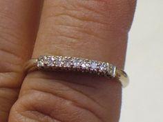 www.my3ladiesjewelry.com   Beautiful Diamond Gold Band Ladies Wedding by My3LadiesJewelry, $235.99