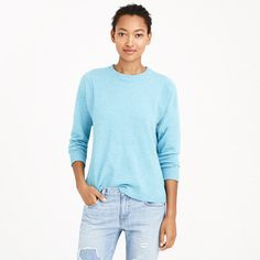 J.Crew - Collection cashmere seamed sweater