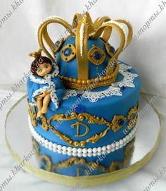 Торт для маленького принца на 1 год