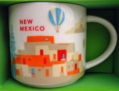 Starbucks City Mug You Are Here in New Mexico