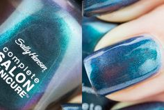 "Sally Hansen - ""Black and Blue"", Summer 2013 Under the Sea Collection"