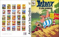 Imprimible Asterix - 02 - Asterix y Los Godos