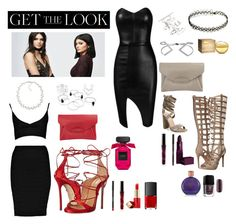"""""""The Sassy Look"""" by breannanicolekidd on Polyvore featuring PacSun, Kendall + Kylie, Dsquared2, Posh Girl, Topshop, Carolee, Givenchy, Steve Madden, Lipstick Queen and Estée Lauder"""