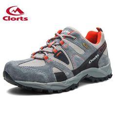 Men Hiking Shoes Suede Climbing Shoes Waterproof