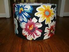 Anthro floral lampshades (I have two of these!)