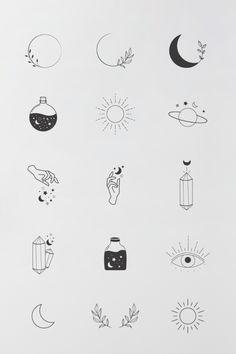 Mini Tattoos, Cute Tiny Tattoos, Easy Tattoos, Boho Tattoos, Tiny Sun Tattoo, Tiny Tattoos With Meaning, Tatoos, Finger Tattoos, Easy Small Tattoos