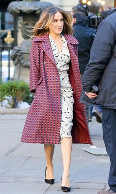 3 Killer Outfits From Sarah Jessica Parker's New TV Show via @WhoWhatWear