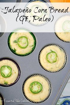 This Jalapeo Corn Bread Recipe is gluten-free, dairy-free and Paleo!