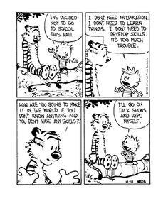 Grew up on Calvin and Hobbies