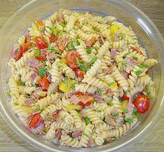 Nudelsalat mit Brunch Paprika - Peperoni