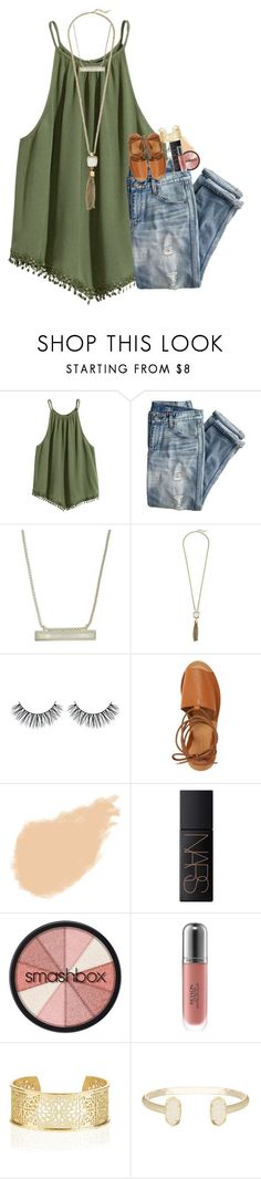 """""""auditions"""" by hmcdaniel01 ❤ liked on Polyvore featuring J.Crew, Kendra Scott, Cole Haan, Topshop, NARS Cosmetics, Smashbox, Revlon and Monsoon"""