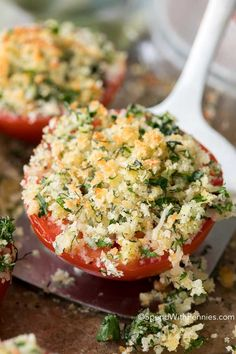 parmesan & herb oven-roasted tomatoes