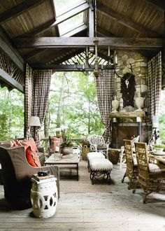 House and Home Defined: A Dreamy Lake Front Porch