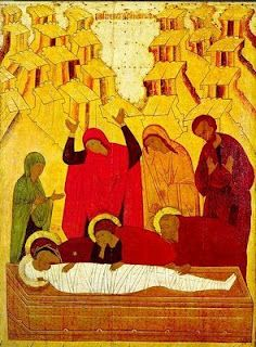The Silence of Holy Saturday icon
