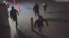 Armed with baseball bats and hockey sticks, a group of 4 men attacked a lone teenager in the streets of Dayton (aka Hattersley) ...why?