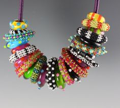 Marcia Decoster & Heather Trimlett beads...whimsical look