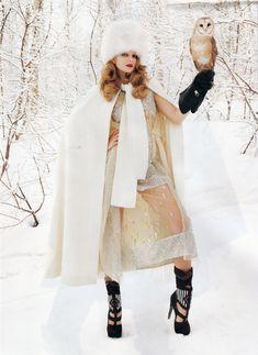 high fashion winter wonderland