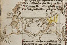 Thomasin <Circlaere>   Welscher Gast (b) Nordbayern (Eichstätt?), um 1420 Cod. Pal. germ. 330 Folio 24v