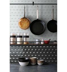 Constellation, black - płytki ceramiczne/mozaika| sklep RawDecor.pl