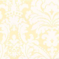 Wallpaper Damask Textured Walls Wall Treatments Pink Yellow Aqua Home Renovation Fabric Design Damasks