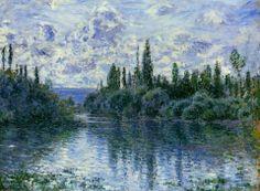 Claude Monet - Arm of the Seine near Vétheuil (1878)