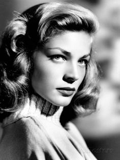 """Lauren Bacall is the definition of a legend. You can step into her world at The Museum at FIT's exhibit, """"Lauren Bacall The Look."""" [Photo by Scotty Welbourne/John Kobal Foundation/Getty Images] Viejo Hollywood, Hollywood Icons, Old Hollywood Glamour, Golden Age Of Hollywood, Vintage Hollywood, Classic Hollywood, Hollywood Glamour Photography, Old Hollywood Actresses, Hollywood Photo"""