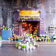 The cutest little floral shop near London's Borough Market!