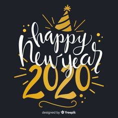 Happy New Year Messages For Friends, Good Night Messages, Thanksgiving Photos, Happy Thanksgiving, Photos Free, New Year Wishes, Happy New Year 2020, 2020 Design, Vector Free