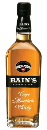 Bain's Cape Mountain Single Grain. Bain's is the first South African single grain whisky, made in Wellington at the James Sedgwick distillery. Bain's has picked up a Gold Medal including the gold at the International Wine & Spirits Competition in 2010.