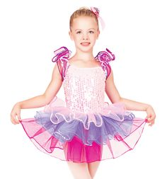 Theatricals Costumes Rainbow Connection Child Flutter Sleeve Dress