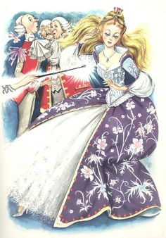 """niladhevan: """" Illustrated Fairy Tales: Cinderella and Sleeping Beauty by Benvenuti Snow White by Nardini. Cinderella Pictures, A Cinderella Story, Original Fairy Tales, Childhood Stories, Vintage Fairies, Vintage Princess, Up Book, Children Images, Children Books"""