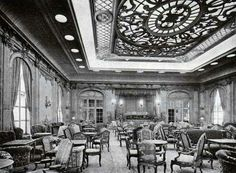RMS Majestic, First Class Lounge