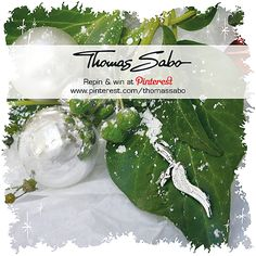 One lucky winner will be drawn on December 13, 2012! Important: Your facebook or twitter account must be linked to your Pinterest profile! Terms and conditions: http://images.thomassabo.com/www/2/2012/11/TC-Pinterest-Xmas-Sweepstake.pdf