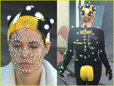 Mocap suit for Angelina.