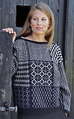 Rebecca 60 by Rebecca Magazine - issuu Fair Isle Knitting Patterns, Knit Patterns, Brunch Outfit, Knitwear Fashion, How To Purl Knit, Yarn Shop, Sewing Clothes, Free Knitting, Knit Crochet