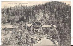 Undated Unused Postcard Telemarken Hotel Haukeli Norway Real Photo