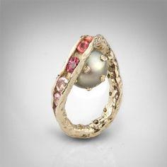 German Kabirski | 14Kgold, diamonds, sapphires & pearl