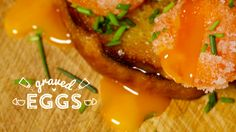 Many people wondered what grave eggs were while watching our video12 Things you can do with an egg. Well, you can make graved eggs bycuring raw egg yolks