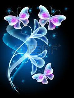 feu d artifice FLEUR Papillons qui volent transparentes avec la fumée et  feu d\u0027