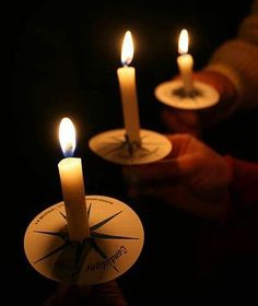 candles for candlelight service | Friday, December 24 – Christmas Eve