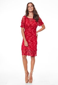 Vestido Vermelho Cléa • Círculo S/A