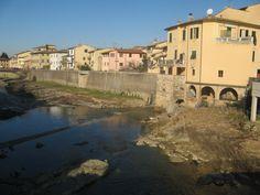 il torrente Pesa dalla Passerella