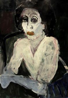 Barbara Kroll selfie Figure Painting, Painting & Drawing, Drawing Tips, Blind Contour Drawing, Contour Drawings, Digital Painting Tutorials, Sad Art, Art Station, Famous Art