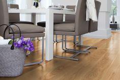 Oak floor - SAGA Exclusive Ek Rustik Borstad