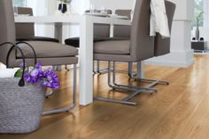 Oak floor - SAGA Exclusive Ek Rustik Borstad
