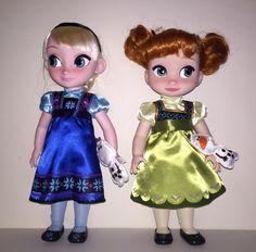 Frozen Dolls- So cut