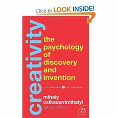 Creativity: The Psychology of Discovery and Invention: Amazon.co.uk: Mihaly Csikszentmihaly: Books