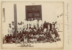 Slaves captured from a dhow - National Maritime Museum