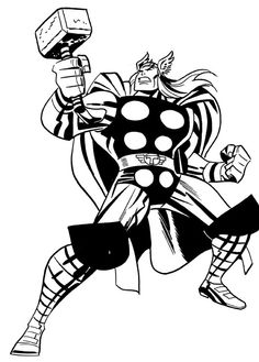 """Thor"" by Bruce Timm #brucetimm"